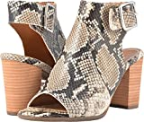 Vionic Womens Perk Blakely Slingback Heel Natural Snake Size 6.5
