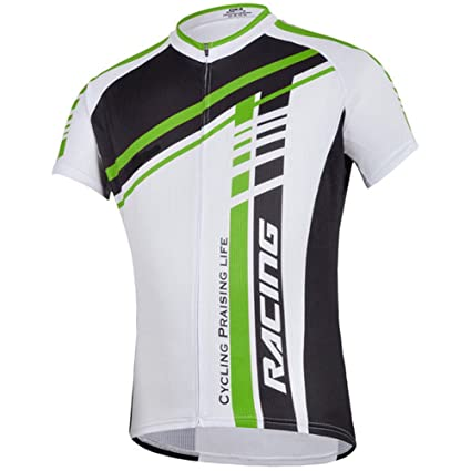 1f2d0823f sponeed Men s Bicycle Jersey Polyester and Lycra Shirt Tops Sublimation  print Size Asia M US