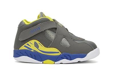 d6f85cc8bc87b Basket Nike Air Jordan 8 Retro Bébé - Ref. 305360-037 - 23 1 2 ...