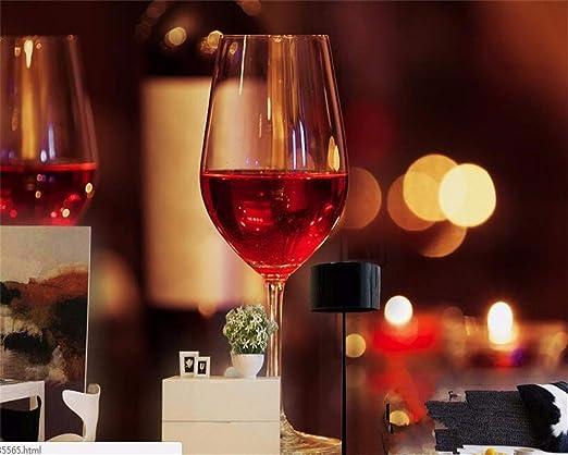 Rureng Mural Ambiente Moderno Papel Tapiz Simple Moda Vino Tinto ...
