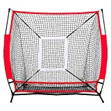 Allblessings Zone Back Baseball Practice Net Batting Pitching Hitting Softball Thrower Strike For Training