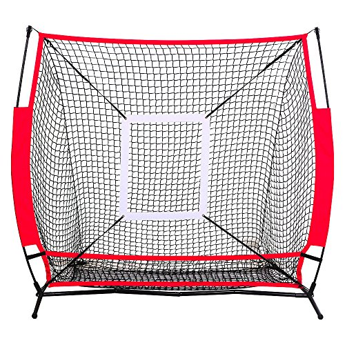 Allblessings Zone Back Baseball Practice Net Batting Pitching Hitting Softball Thrower Strike For Training by Allblessings