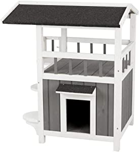 Trixie Natura Pet's Home with Shade Grey Cat Furniture