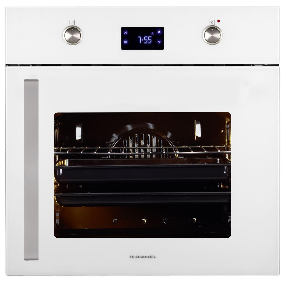 Empotrable - Horno ebi12886wr Color de diseño blanco Apertura de ...