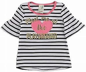de88e4f26269 Lily Bleu Girl s Meet Me At The Playground Striped Top