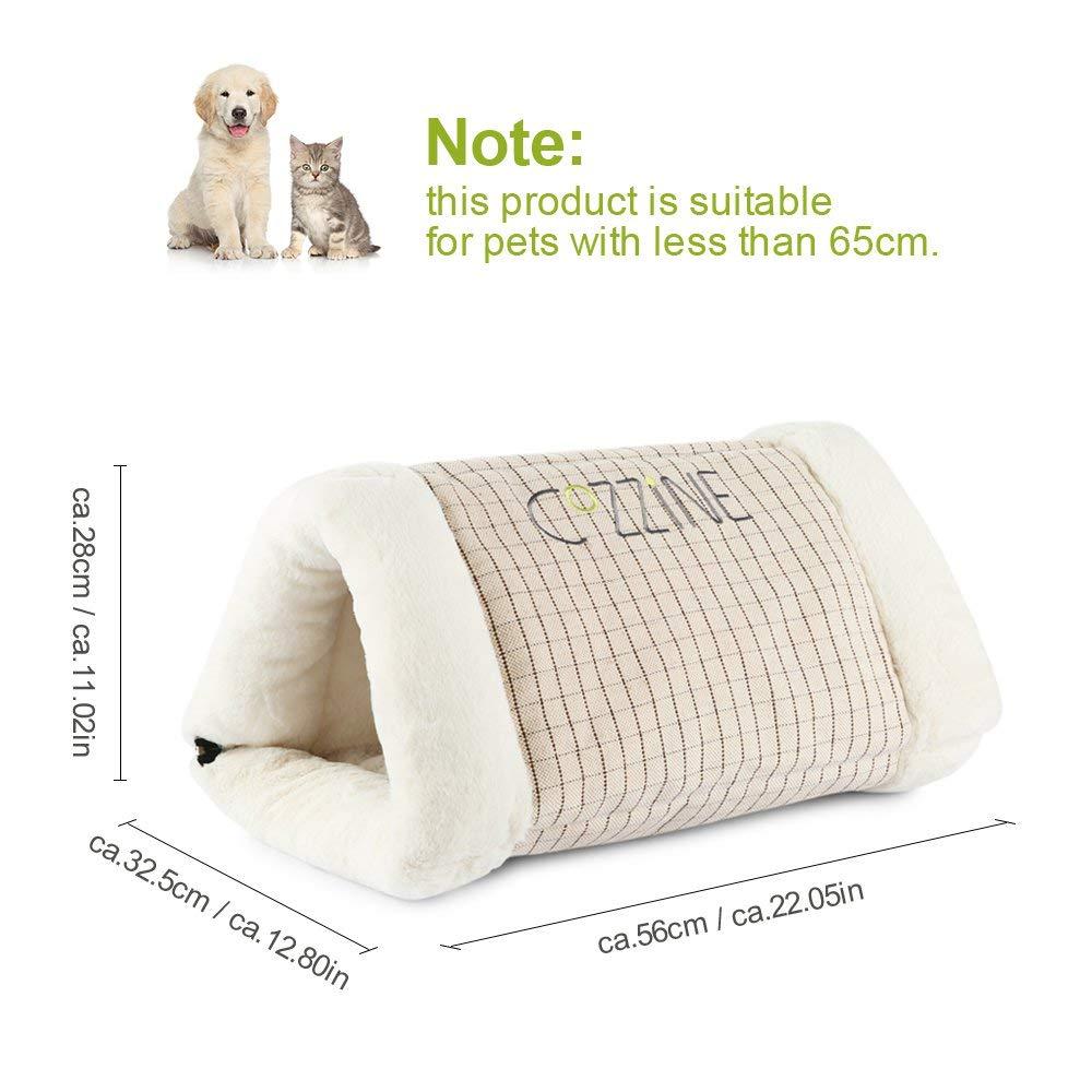 GBlife Portatíl Cojín Extraíble Suave Cama de Gatos Perros Pequeños Casa para Mascotas y Sofá Multifunción Habitación de Perros Pequeños Camas Creativas (Un ...