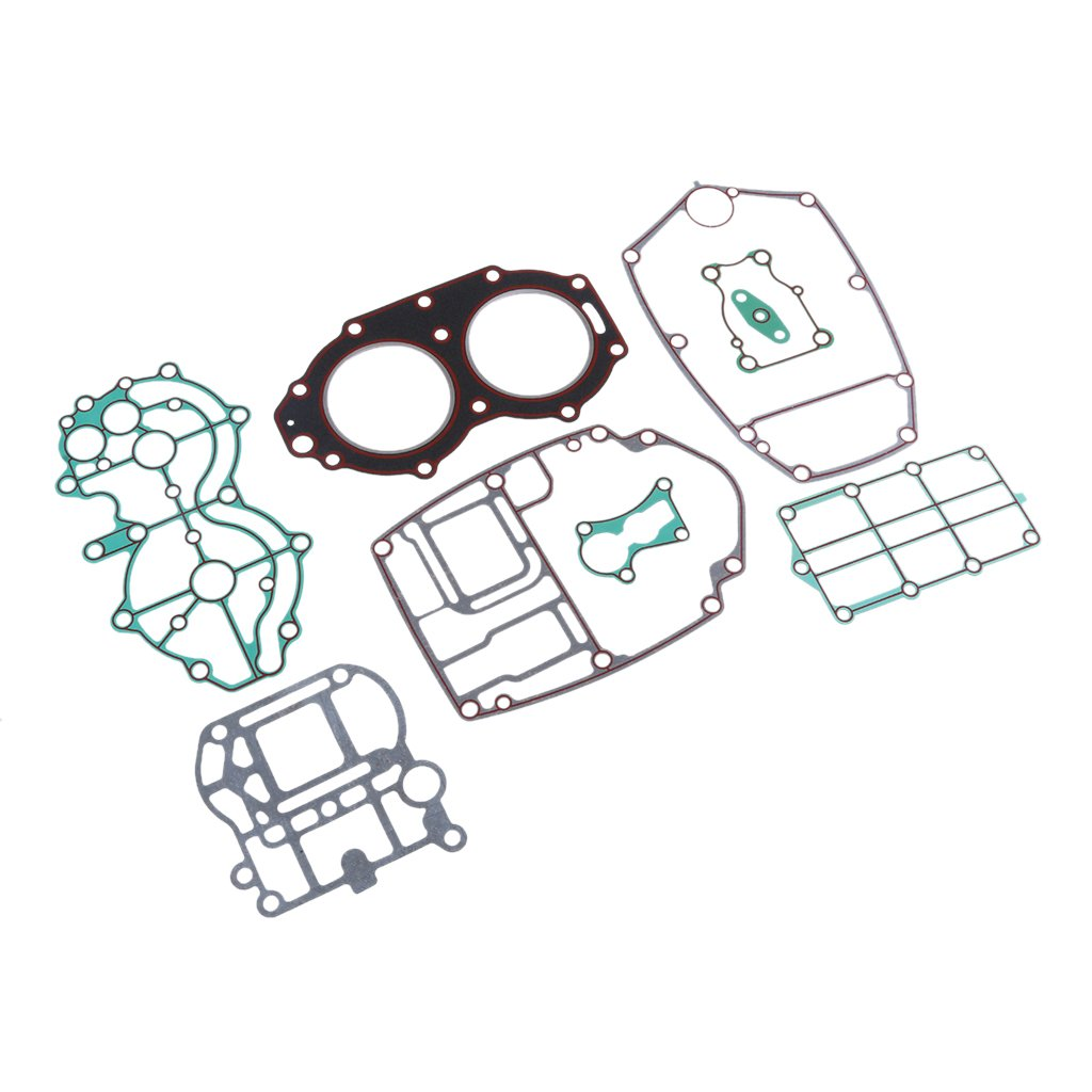 MagiDeal Outboard Motor Cylinder Gaskets Kits For Yamaha 2 Stroke 40HP Engine
