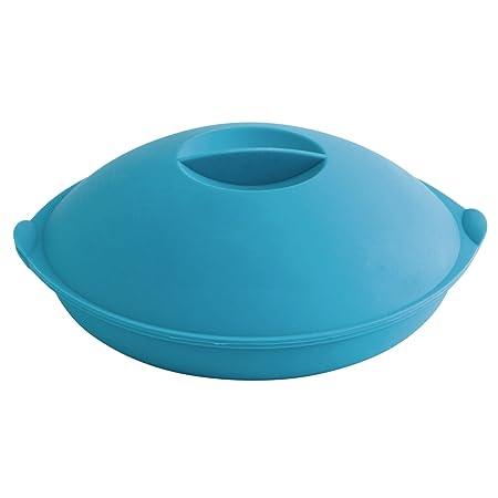 Quid Vaporera de Silicona, Azul, 25 cm, 4: Amazon.es: Hogar