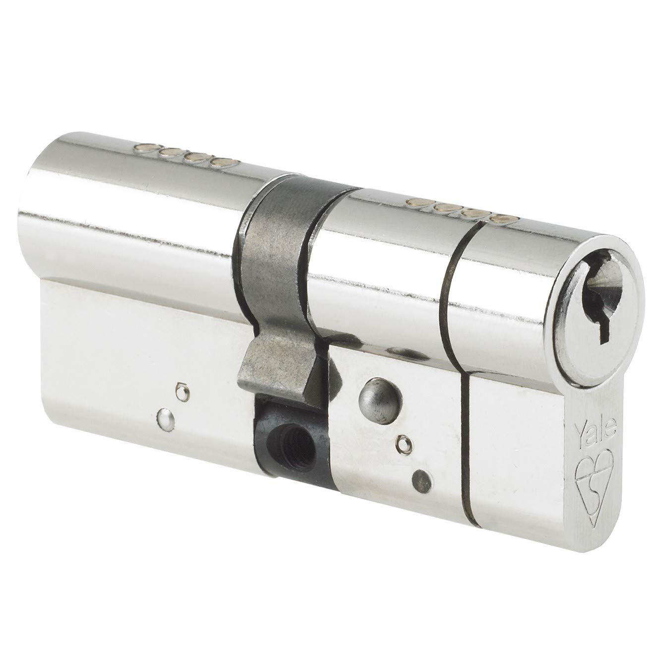 Import Grande Bretagne Yale Locks X6 Cylindre de serrure Certifi/é Kitemark Plaqu/é nickel Visi 40 x 50 x 100 mm