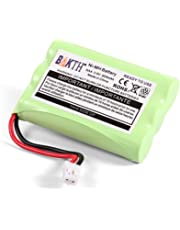 BAKTH 900mAh 3.6V Ni-MH Replacement Battery for Motorola MBP33 MBP36 MBP33BU MBP33P MBP35 MBP36PU MBP41 MBP43 MBP18 CB94-01A Baby Monitor (not Compatible with MBP33S and MBP36S)