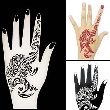 amazon com formemory henna tattoo template temporary tattoo