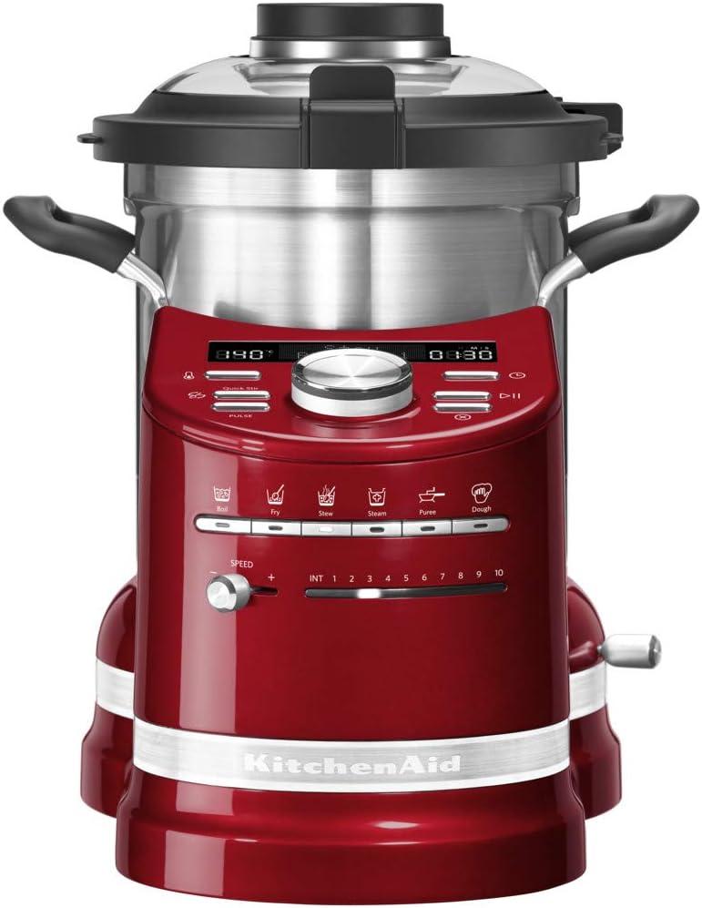 KitchenAid 5KCF0103ECA Artisan Cook Professional - Robot de cocina, color verde: Amazon.es: Hogar