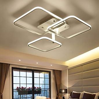 Plafones Control remoto regulable LED de 3-bombilla ...