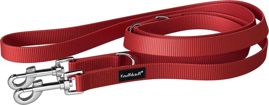 Knuffelwuff Active Laisse Nylon pour Chien 210 cm 13949-022
