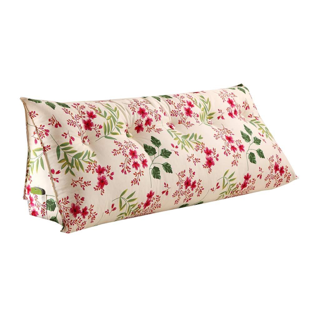 ランキング第1位 ベッドサイド - Sofa B07RJGXDWV Wedge Bedside Large Filled Triangular Wedge Cushion - Bed Backrest Positioning Support Pillow Reading Pillow Office Lumbar Pad -Removable And Washable 4 Colors (色 : C, サイズ さいず : 150x22x50cm) B07RJGXDWV 100x22x50cm|C C 100x22x50cm, 漆器 山田平安堂:8ee28f5b --- cartaovt.com.br
