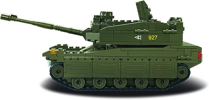 Sluban M38-B0305 armée Merkava Tank avec 5 mini figures 344 PIECES