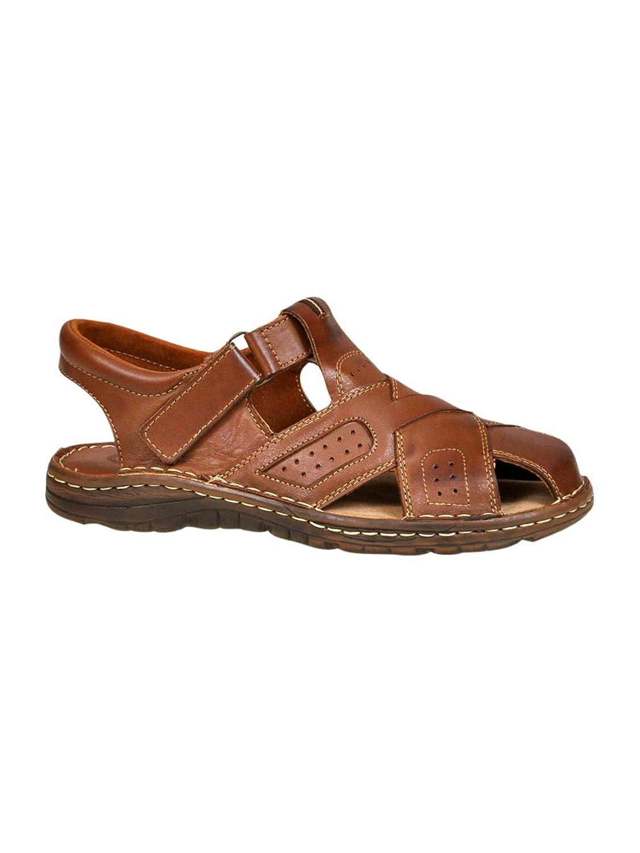 Lukpol Herren Bequeme Sandalen Schuhe mit der Orthopadischen Einlage Aus Echtem Buffelleder Hausschuhe Modell 867Lukpol Orthopadischen Buffelleder Hausschuhe 867