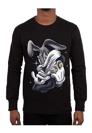 Magic Custom - Sudadera - para Hombre Negro XS