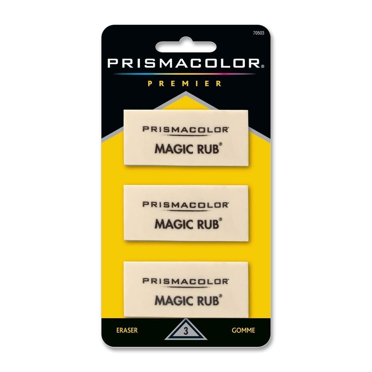 Prismacolor Scholar Colored Pencil Sharpener (1774266) with Sanford Prismacolor Magic Eraser (70503)