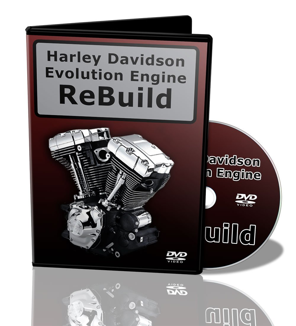 "Amazon.com: Harley Evolution Motor Rebuild Video Manual on DVD. ""Live"" How  to Instruction: Movies & TV"