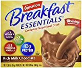 Carnation Breakfast Essentials, Rich Milk Chocolate, 10 ct, 1.26 oz each For Sale