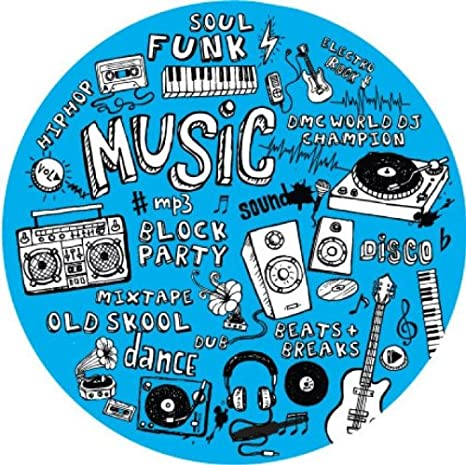 Dmc Mix Up - Alfombrilla para tocadiscos, diseño de letras ...