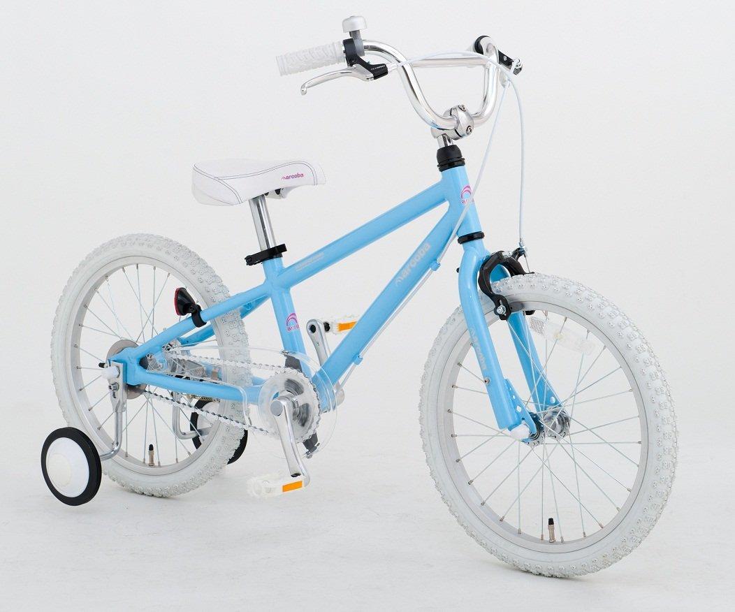 【完全組立出荷】Arcoba 子ども用自転車 2018年モデル16インチ フェンダー付 arcoba アルコバ 子供用自転車 幼児車  TEKTROブレーキホワイトパーツ ハイクオリティー用 子供用自転車 補助輪付 子供  可愛い 入学祝い 小学校 女の子 入園祝い B06XCXSXN4 ブルー ブルー