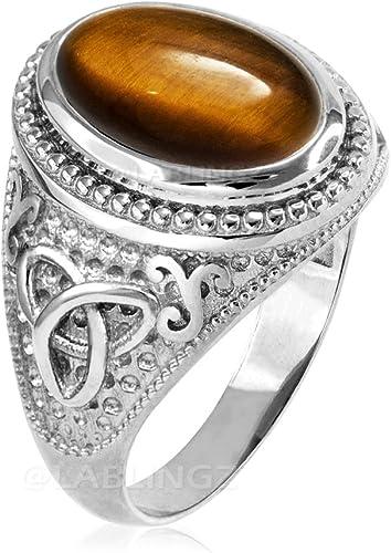 Vintage Tiger Eye Man Ring 925 Silver Men Gemstone Signet Ring Tiger Eye Gemstone Ring For Man 925 Silver Unique Statement Ring Gift for Him