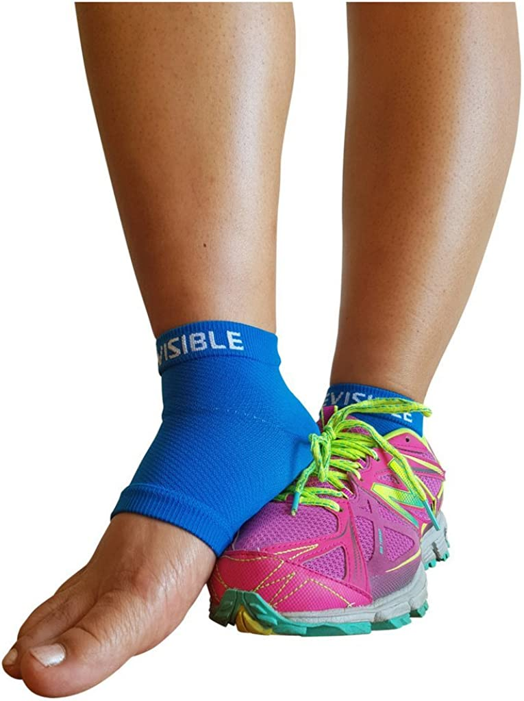 BeVisible Sports Plantar Fasciitis Sock - Compression Foot Sleeves for Men & Women for Plantar Fasciitis Heel Pain Relief with Arch Support