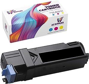 AZ Compatible Toner Cartridge Replacement for DELL 2150/2155 use in Color Laser 2150 Color Laser 2150CDN Color Laser 2150CN Color Laser 2155 Color Laser 2155CDN (Black, 1-Pack)