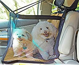 K9 CarFence Deluxe-Tan Pet Cage