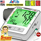 Dr. Trust Atrial Fibrillation Automatic Digital Bp Monitor Machine (Includes Adapter, Carry Bag, Batteries, Thermometer)