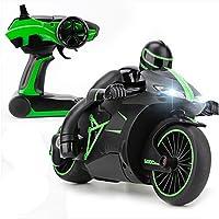 Hugine 4CH RC Motocicleta 2.4G Velocidad rápida 1:18