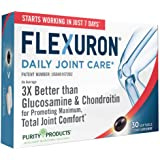 Flexuron Joint Formula by Purity Products - 3X Better Than Glucosamine and Chondroitin - Starts Working in just 7 Days…