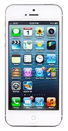CERTIFIED REFURBISHED Apple IPhone 5 White Silver 16GB