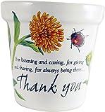 Personlaized Candle Pots 011260010 Thank You Candle Pots