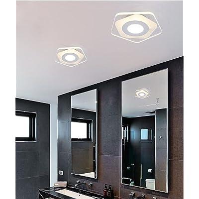 Plafonnier Led Moderne Pentagone Applique Plafonnier Eclairage Lampe