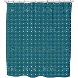 Firmament Shower Curtain: Large Waterproof Luxurious Bathroom Design Woven Fabric