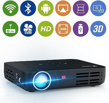 WOWOTO H8 1280x800 1080p HD 3D DLP Mini Projector