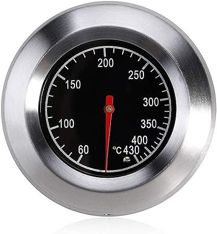 Grillthermometer Edelstahl Smoker BBQ Räucherofen Thermometer Bratenthermometer