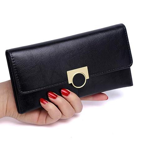 ZMRDC billeteras Pokemon 3PCS señoras Billetera Cremallera Larga Bolso de Embrague de Mujer Billetera de Gran