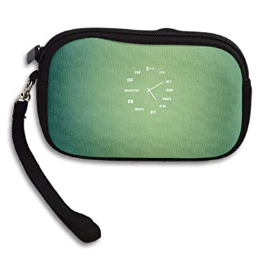 Amazon.com: Pequeña cartera de cinturón de mano con ...