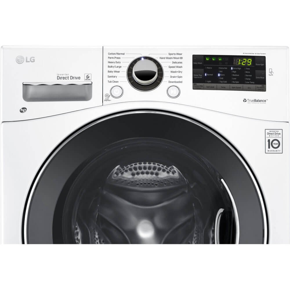 LG 2.3 CU.FT Compact All-in-one Washer//dryer
