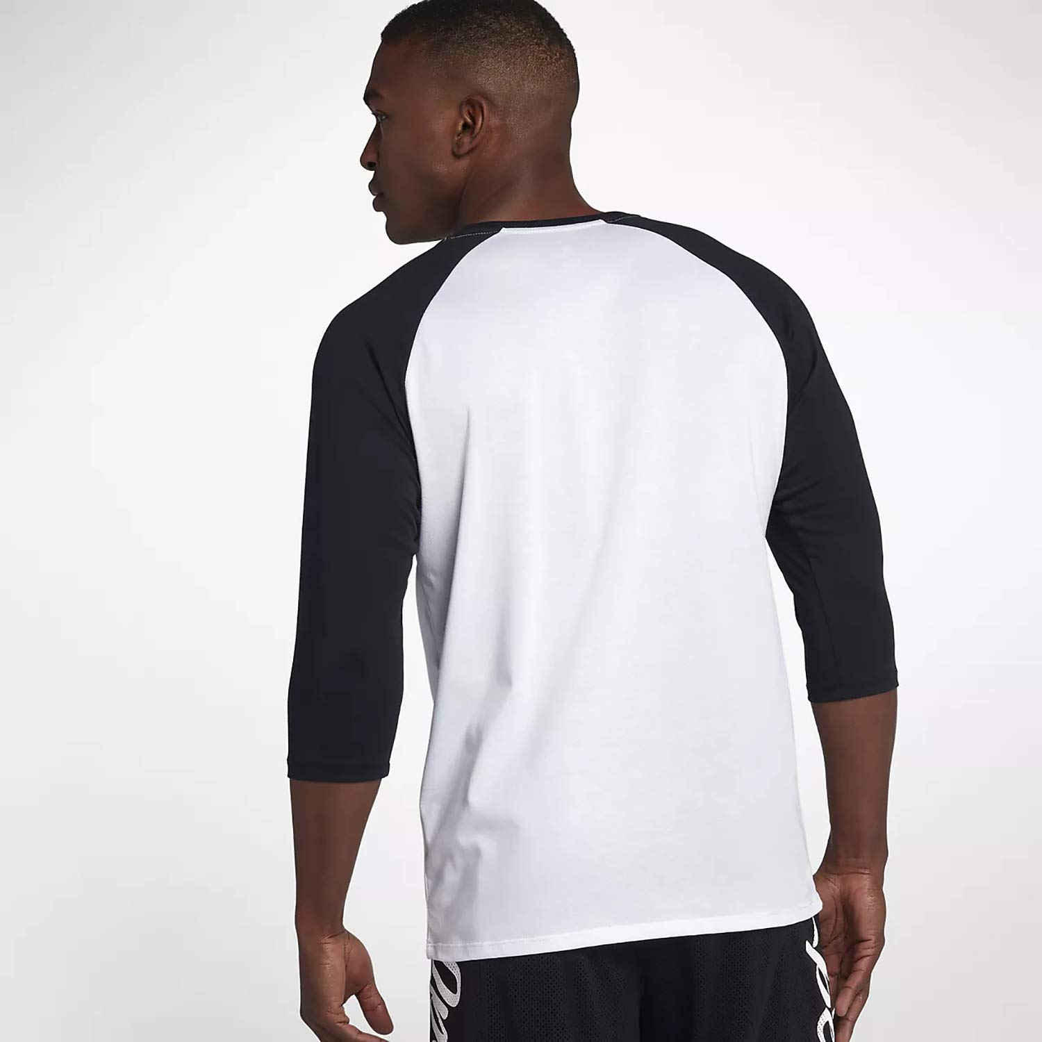 Men 3//4 Sleeve T Shirts 80/% Cotton,20/% Polyester Classic Unisex