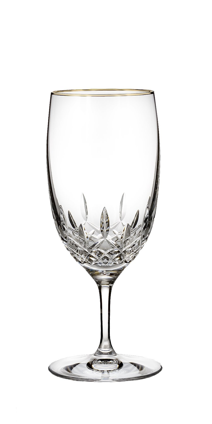 Waterford Lismore Essence Gold Stemware Iced Beverage Glass