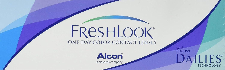 3c38de5fa6f63 Alcon - Lentes de contacto - Freshlook 1 Day Hazel - 10 unid.  Amazon.es   Salud y cuidado personal