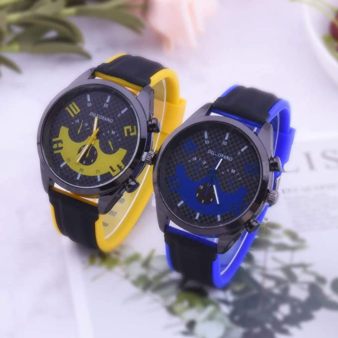 Rcool Relojes suizos relojes de lujo Relojes de pulsera Relojes para mujer Relojes para hombre Relojes deportivos,Reloj de silicona para hombre: Amazon.es: ...