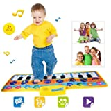 Rcool Baby Kid New Touch Play Keyboard Musical Toys Music Singing Carpet Mat Toy Wisdom Development Puzzle Toys Kids Gift