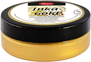 Viva Decor 2.2-Ounce Inka Gold Elegant Metal Finish with Beeswax
