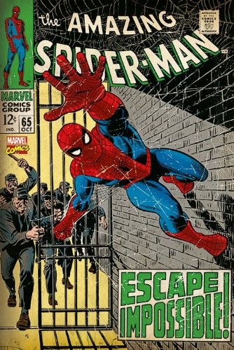 The Amazing Spider-Man - Comic Poster Comic Cover - Escape Impossible!